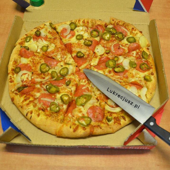 Pizza domino's american hot