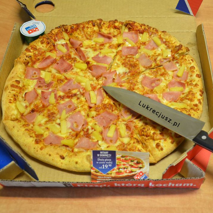 Pizza domino's hawajska