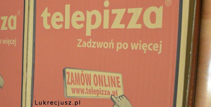 Telepizza pudełko