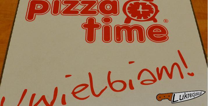 Pizzatime pudełko