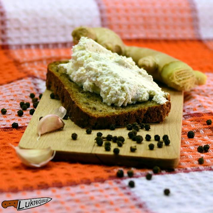 Kanapka z serem imbirowym