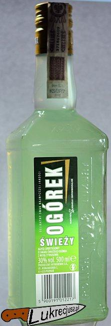 wodka luksusowa ogorkowa