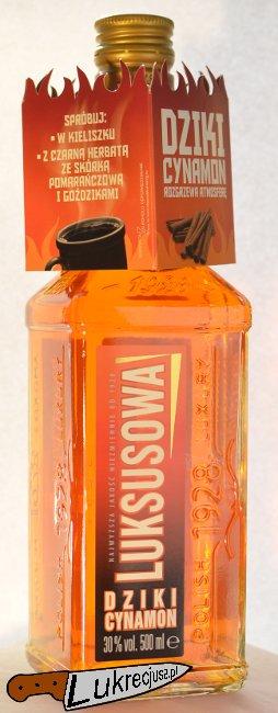 wodka luksusowa wyborowa dziki cynamon
