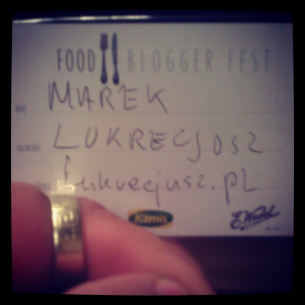 #food #blogger #fest