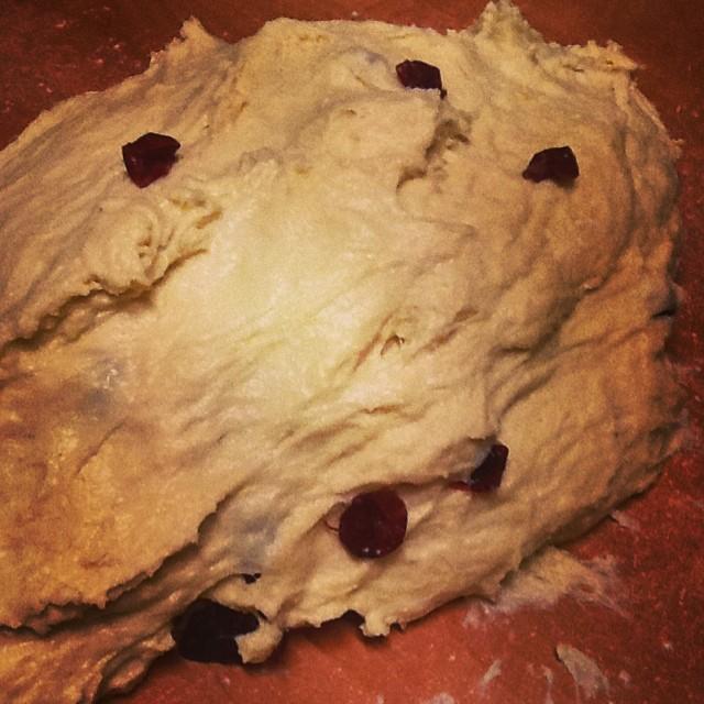 #bułeczki się robią z #żurawiną :) #nakarmgrubasa #kolacja #foodporn #buns