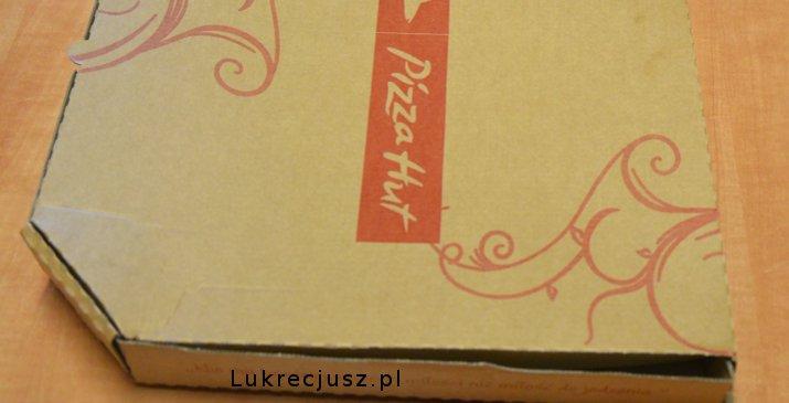pizza hut pudełko