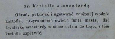 Przepis na ziemniaki z musztardą