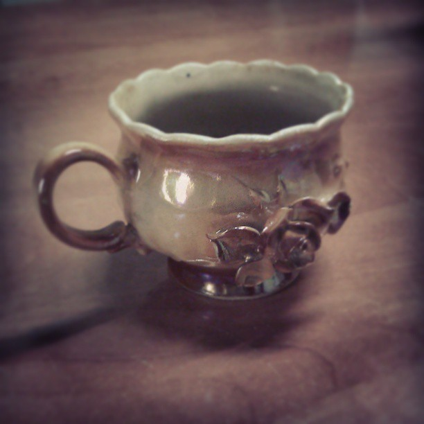 Pierwsza #kawa w nowej #filiżance #new #cup