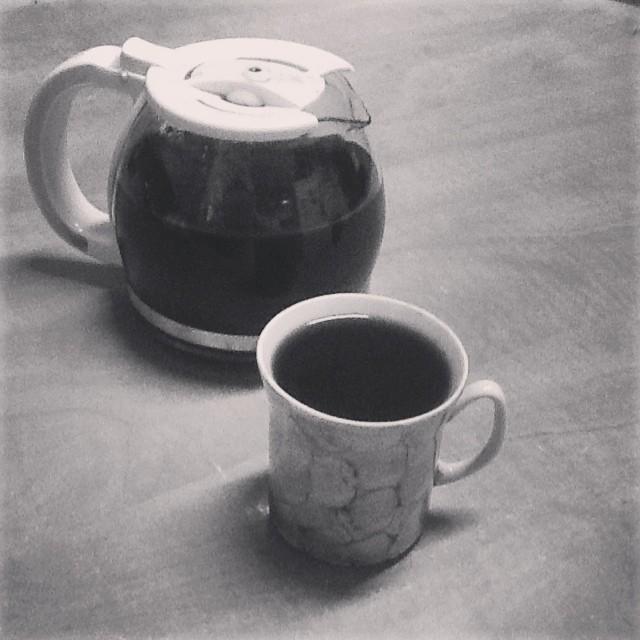 Gożka #kawa z kawą #dieta zabrali herbatniki i ciastka :( #jakżyć #zabijgrubasa #coffeporn
