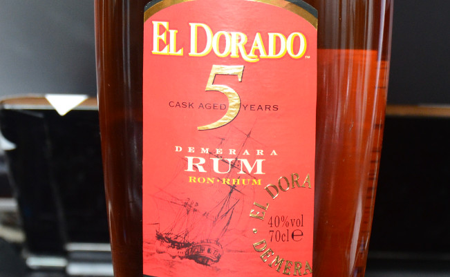 el dorado rum etykieta